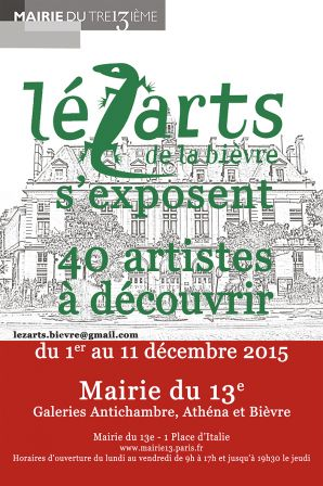 affiche expo Mairie